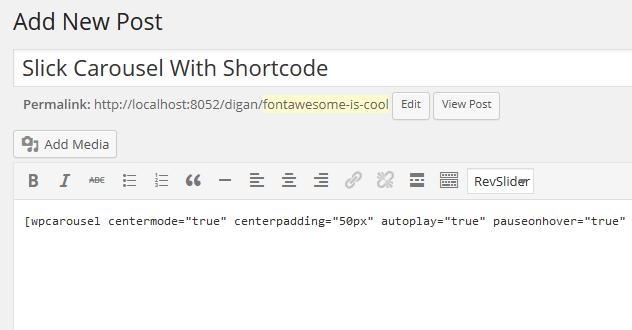 carousel-shortcode