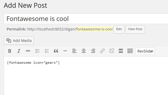 fontawesome-shortcode