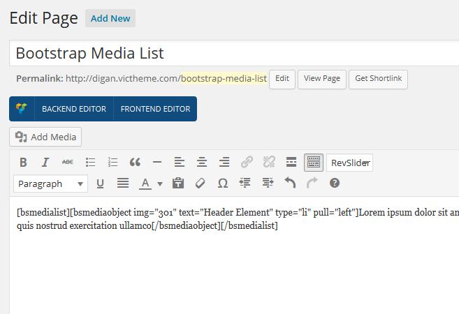 media-shortcode