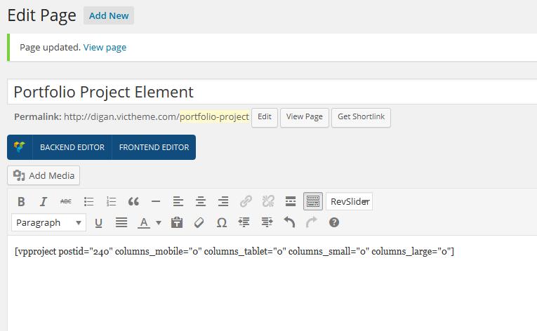 portfolioproject-shortcode